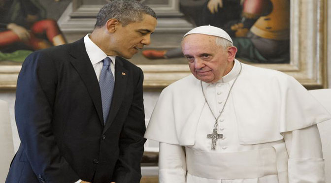 Obama & Pope Announces NWO Agenda